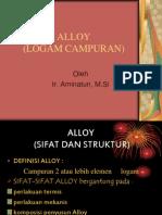 Alloy - Logam Campuran