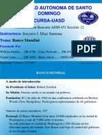 Diapositiva Banco Mundial