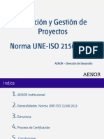 Norma Une-Iso 21500 2013