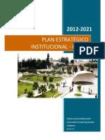 PEI UNJBG 2012-2021
