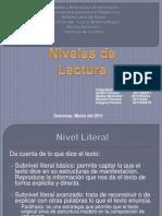 Técnicas de Lectura - Los Niveles de Lectura.pptx