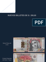 Seguridad Billetes 200