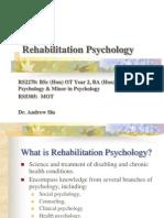 Adjustment & Adaptation to Illness & Disability