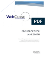 Web Cease Anonymous Sample Report