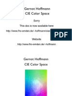 CIE Color Space