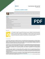 Comunicación, desarrollo y cambio social