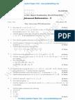 Advanced Mathematics 2 Jan 2014