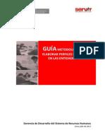 GUIA Metodologica Elaborar Perfiles de Puestos