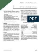 FDM-1 Dual Monitor Module F-2003214-1