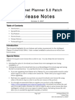 Planner Release Notes