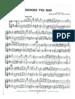 Good To Go (Sax Duet)