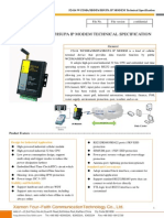 f2414 Wcdma Ip Modem Technical Specification