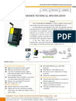 f2514 Td-scdma Ip Modem Technical Specification