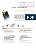 F1102 GPRS Intelligent Modem Technical Specification