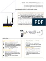 f3524 Td-scdma Wifi Router Specification
