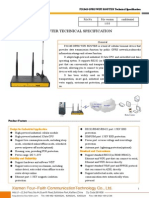 f3134s Gprs Wifi Router Technical Specification