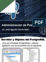 2. Administración de PostgreSQL