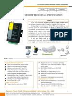 f7214 Gps+Cdma Ip Modem Technical Specification