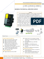 f7314 Gps+Edge Ip Modem Technical Specification
