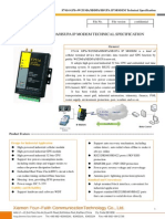 f7414 Gps+Wcdma Ip Modem Technical Specification