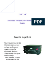 Rectifier and SMPS