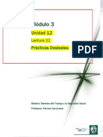 Lectura 22 - Prácticas Desleales