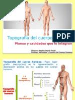 Topografia Del Cuerpo Humano
