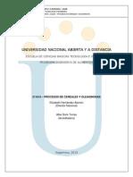 Modulo Procesos Cereales y Oleaginosas