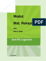 Pd Legendre - Modul Matematika Rekayasa II