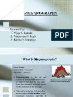 video  Steganography Ppt