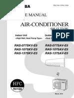Service Manual Avant 10-13-7SKV-E5-1