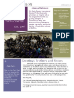 april newsletter draft