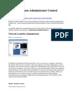 Aplikasi Remote Administrator Control Client