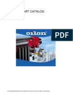 Oilon BURNERS Spare Part Catalogue