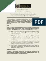 Multivariate Data Analysis 6e Datasets Documentation