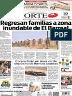 Periódico Norte de Ciudad Juárez edición impresa del 20 abril del 2014