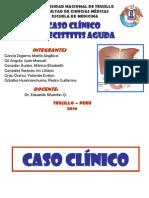 Caso Clinico Colecistitis