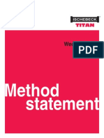 WedgeJack Method Statement