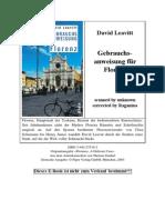 David Leavitt - Gebrauchsanweisung f r Florenz