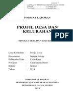 Profil Desa Jeruju Besar 2014