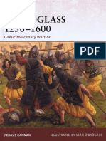 Galloglass 1250-1600 Gaelic Mercenary Warrior