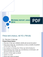 Morning report, Januari 21- 2014.ppt