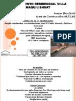Presentacion Apartamentos Villa Maquilishuat....