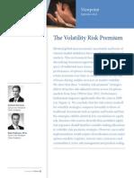 Volatility Risk Premium PIMCO September 2012