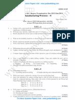 Manufacturing Process 2 Jan 2014