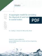 HRPP492:A Lagrangian model