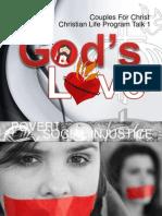 CFC CLP Talk 1 - Gods Love
