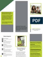 brochure - resource for parents