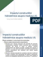 Impactul Constructiilor Hidrotehnice Asupra Mediului (4)