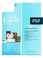Hfe Pioneer Stereo Components 1977